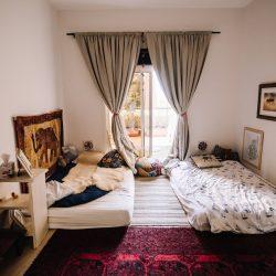 Wide view of child's bedroom