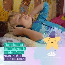 Bedtime Meditation for Children, Montessori - NightSky